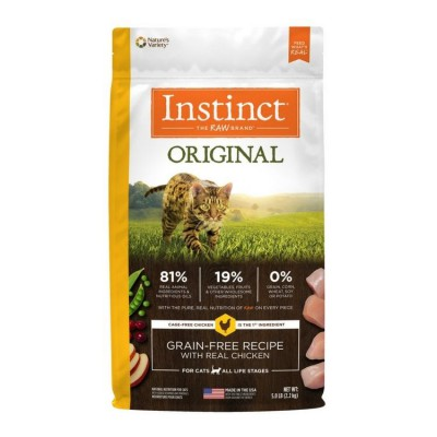 NATURE'S VARIETY Instinct Original 無穀物 雞肉貓糧