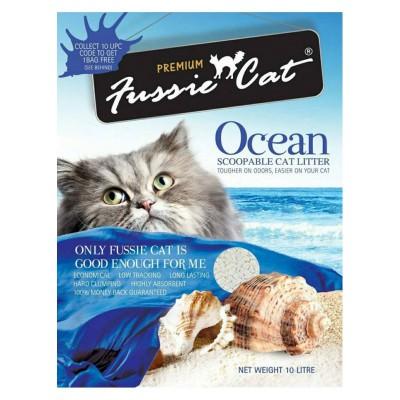 Fussie Cat 礦物貓砂(海洋味)