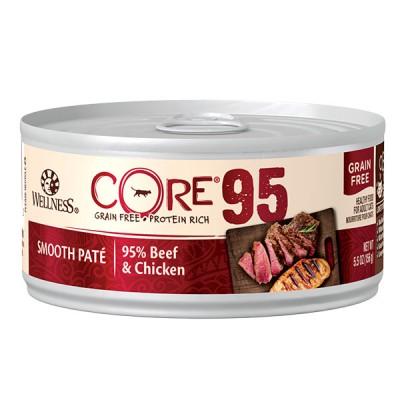 WELLNESS CORE 95 牛肉雞肉天然貓罐頭 5.5oz