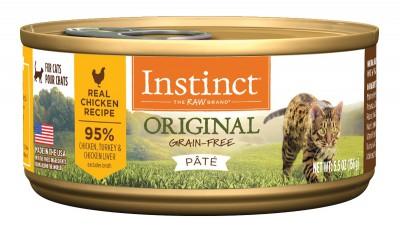 NATURE'S VARIETY INSTINCT  Original 無穀物 雞肉 貓罐頭 5.5OZ