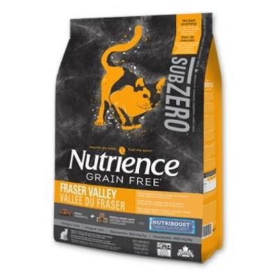 Nutrience - SUBZERO 全貓糧 - 無穀物 凍乾鮮雞肉 (雞、火雞及海魚) 配方 5lb