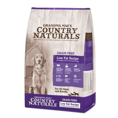 Grandma Mae's Country Naturals 無穀物防敏高纖 全犬種 精簡配方 4lb / 14lb / 25lb