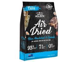 Absolute Holistic Air Dried 超越巔峰鮮食肉片-藍鯖魚+放牧羊+綠貽貝+牛磺酸 1kg