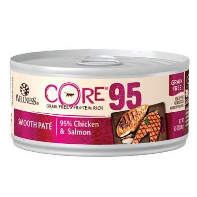WELLNESS CORE 95 雞肉三文魚天然貓罐頭 5.5oz