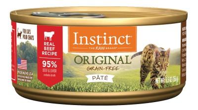 NATURE'S VARIETY INSTINCT Original 無穀物 牛肉 貓罐頭 5.5OZ