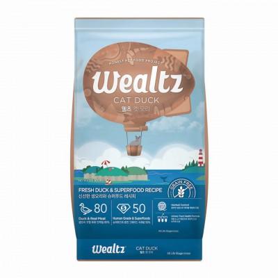 Wealtz 鮮鴨肉 超級食物 [全貓配方] 2.1kg / 6kg
