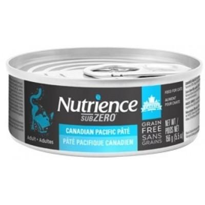 Nutrience - SUBZERO 全貓罐頭 - 無穀物 三文魚、海魚 + 凍乾脫水三文魚配方 5.5oz
