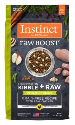 NATURE'S VARIETY INSTINCT Raw Boost 無穀物 雞肉體重控制配方 狗糧