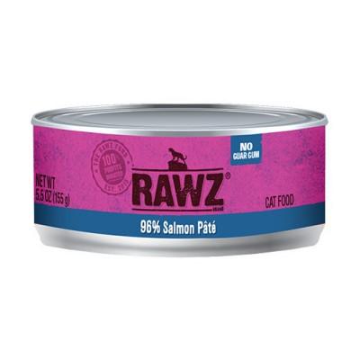 RAWZ 96% 三文魚 全貓肉醬罐頭 5.5oz