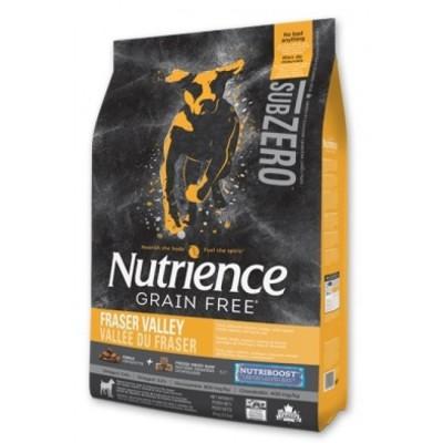 Nutrience - SUBZERO 全犬糧 - 無穀物 凍乾鮮雞肉 (雞、火雞及海魚) 配方 5lb