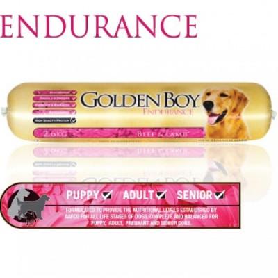 Golden Boy Endurance (牛肉+羊肉+雞肉+Omega-3+抗氧化物+葡萄糖胺) 犬配方 2.6kg