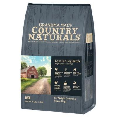 Grandma Mae's Country Naturals 雞肉糙米低脂高纖犬用配方  4lb / 14lb / 26lb
