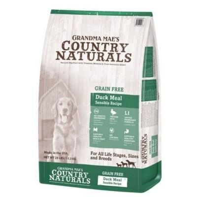 Grandma Mae's Country Naturals 無穀物 鴨肉防敏 全犬種精簡配  4lb / 14lb / 25lb