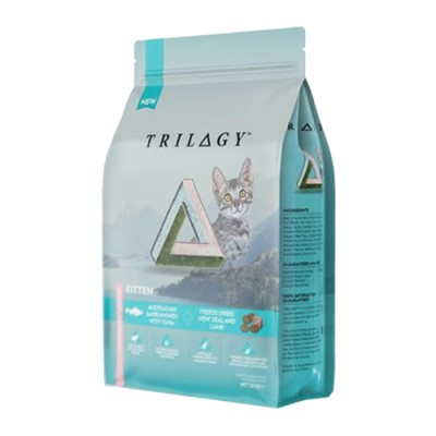 Trilogy™奇境 澳洲尖吻鱸及吞拿魚+5%紐西蘭羊肺凍乾 無穀幼貓糧 (發育成長配方-Kitten) 1.2kg
