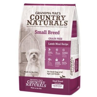Grandma Mae's Country Naturals 無穀物羊肉防敏 中小型犬種精簡配方4lb / 14lb