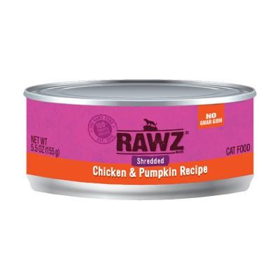 RAWZ 雞胸+南瓜 肉絲主食貓罐頭 5.5oz