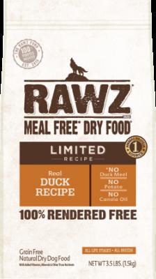 RAWZ 全犬乾糧 單一動物蛋白來源配方-鴨肉味