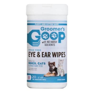 Groomer's Goop 耳眼除污濕紙巾