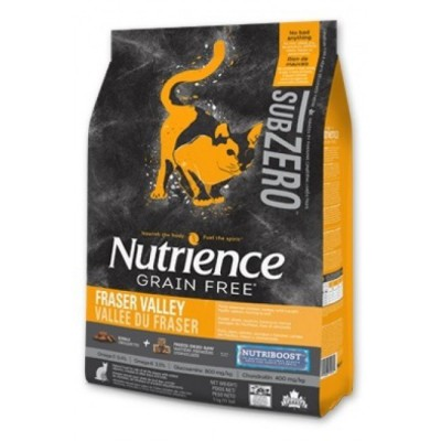 Nutrience - SUBZERO 全貓糧 - 無穀物 凍乾鮮雞肉 (雞、火雞及海魚) 配方 11lb